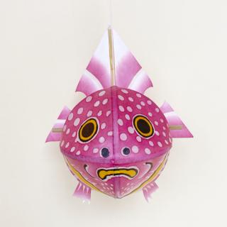 金魚ねぷた4寸 ピンク