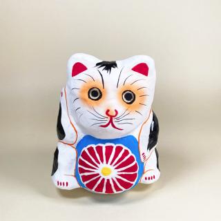 多摩張り子 鞠抱き猫 タイプA