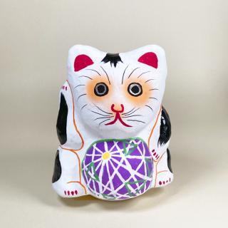 多摩張り子 鞠抱き猫 タイプB
