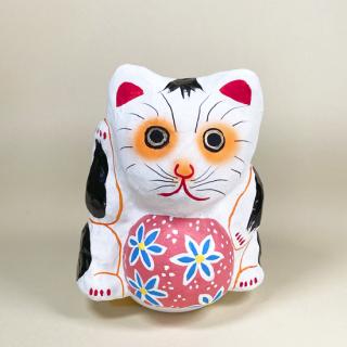 多摩張り子 鞠抱き猫 タイプC