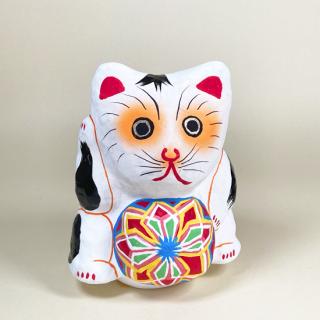 多摩張り子 鞠抱き猫 タイプD