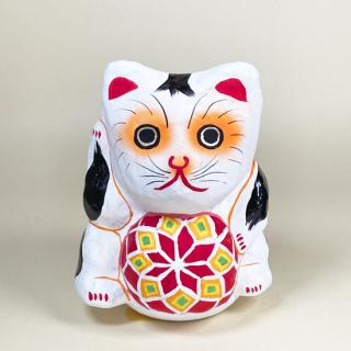 多摩張り子 鞠抱き猫 タイプE