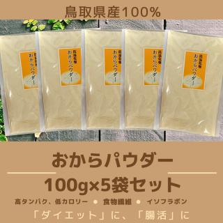 おからパウダー 100g×5袋セット