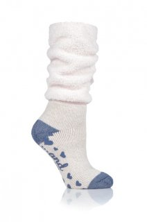 LADIES HEAT HOLDERS LOUNGE SOCKS - COSY SLOUCH