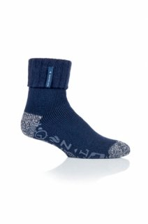 1 PAIR MENS HEAT HOLDERS LOUNGE SOCKS - WHITTAKER