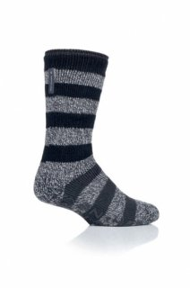 1 PAIR MENS HEAT HOLDERS LOUNGE SOCKS - OAKLEY