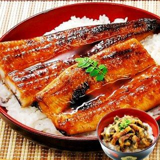鹿児島産 特大うなぎ蒲焼き 約170g1尾+刻みうなぎ70g 送料無料