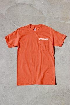 HIGH!STANDARD/ビーフィー ポケットTシャツ ORG,LT.BLUE,WHT