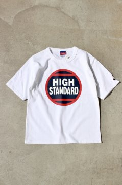 HIGH!STANDARD/CIRCLE PRINTED WHT,BLK