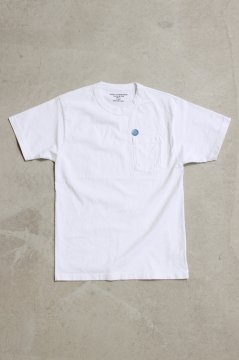 HIGH!STANDARD/8.5オンス ポケット ショートスリーブTシャツ WHT,S.GRN,BLK