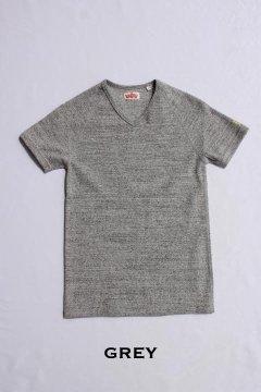 ハリウッドランチマーケット/ストレッチフライスVネックショートスリーブTシャツ