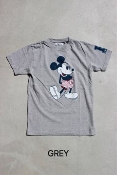 <img class='new_mark_img1' src='https://img.shop-pro.jp/img/new/icons20.gif' style='border:none;display:inline;margin:0px;padding:0px;width:auto;' />DISNEY×HRM/HRM MICKEYショートスリーブTシャツ GRY,NVY