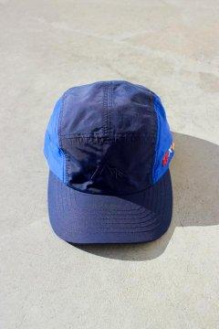 MT.RAINIER DESIGN×BLUE BLUE/フラッグジェットキャップ NVY