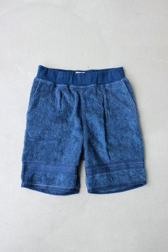<img class='new_mark_img1' src='https://img.shop-pro.jp/img/new/icons20.gif' style='border:none;display:inline;margin:0px;padding:0px;width:auto;' />FRUIT OF THE LOOM×BLUEBLUE/インディゴタオルショーツ