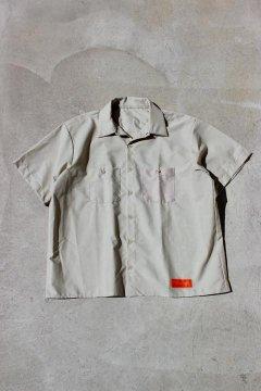 UNIVERSAL OVERALL/インダスリアル ビッグワークシャツ TAN