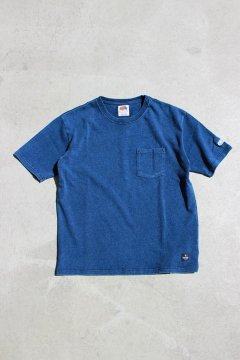 FRUIT OF THE LOOM×BLUE BLUE/ヘビーインディゴTシャツ INDIGO