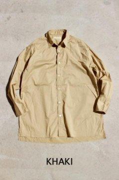 San Francisco/コンパクトツイル チュニックシャツ ウイメンズ KHK,WHT