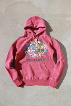 ハリウッドランチマーケット/10FIGHTERS ヴィンテージ スウェットプルパーカ