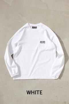 ハリウッドランチマーケット/H.R.MARKET オールドタイムロゴ ロングスリーブTシャツ 4色