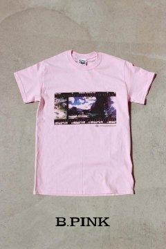 MT.RAINIER DESIGN/ヨセミテランドスケープ Tシャツ B.PNK,WHT