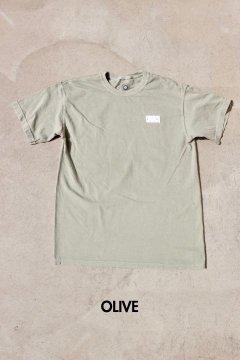 CHURCH BARBER/ワイルド ウォーター Tシャツ OLIVE,ORG