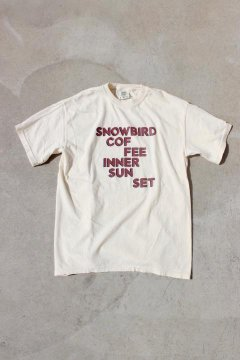 SNOWBIRD COFFEE/INNER SUNSET Tシャツ