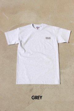 HIGH! STANDARD/エンブロイダリー ポケット Tシャツ 3色