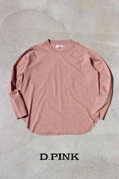 ハリウッドランチマーケット/コットンキュプラテンジク ラウンドTシャツ ウイメンズ 2色