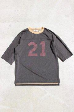 ハリウッドランチマーケット/プレーティングテンジク ナンバリングTシャツ