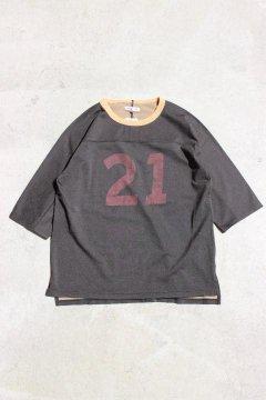 ハリウッドランチマーケット/プレーティングテンジク ナンバリングTシャツ ウイメンズ