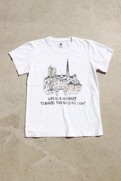 ハリウッドランチマーケット/キャッスルプリント Tシャツ