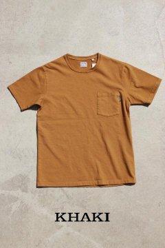 BLUE BLUE/ヘビーテンジク ポケットショートスリーブTシャツ 3色