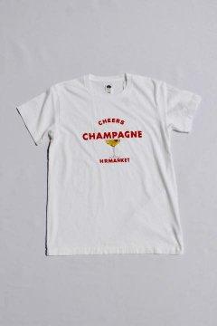 ハリウッドランチマーケット/チアーズ シャンパン Tシャツ