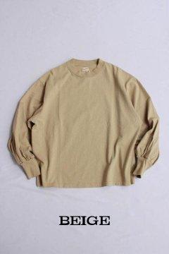 HEALTHKNIT/アメリカンジャージー ギャザースリーブ ロングスリーブTシャツ 3色
