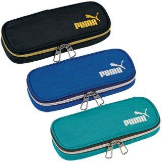 PUMAヘザーボックスペンケース