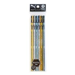 PUMA ホログラム2B鉛筆6本セット