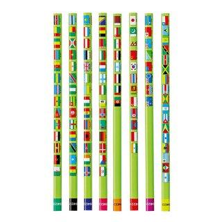 国旗大百科鉛筆(B)12本
