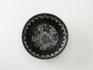 [堂前守人]| 白と黒の鉢