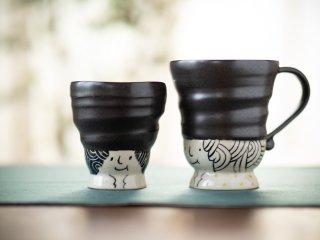 【吉村尚子・陶芸作品】|あのこ〜マグカップ〜大