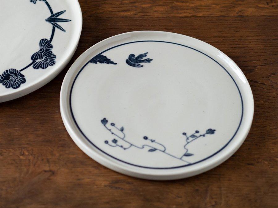 【吉村尚子・陶芸作品】| 溥滅(ふめつ)の庭〜7寸/板皿