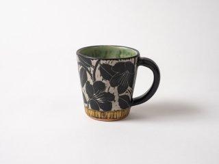 【堂前守人】| 掻き落としマグカップ