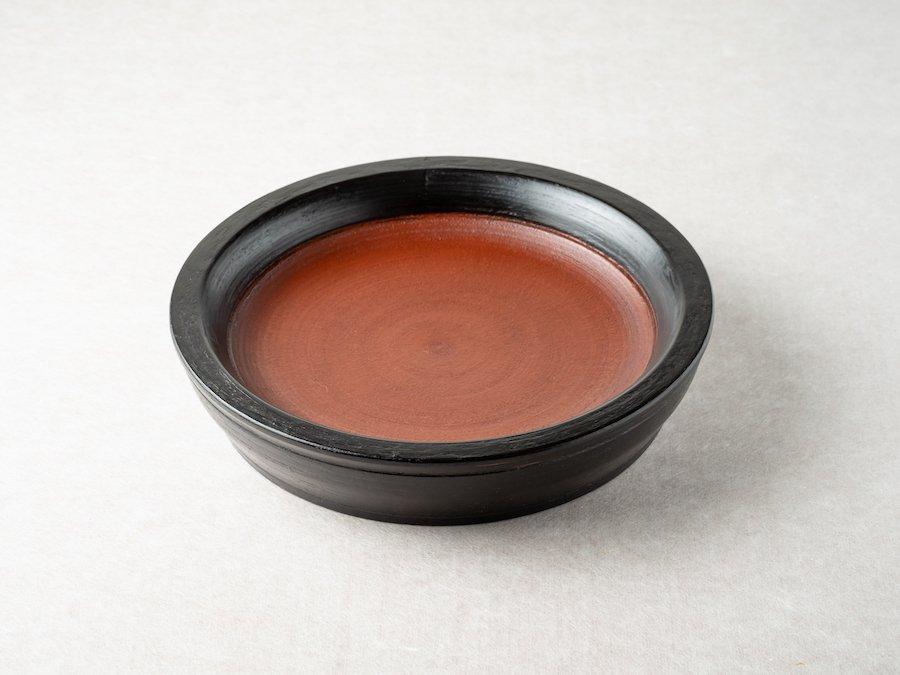 【赤木明登】| パン皿/小・日の丸