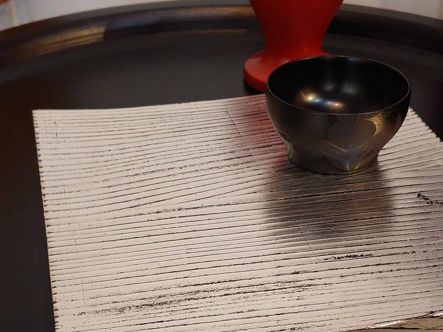 New Arrival! 【赤木明登】| 銀彩角皿/8寸・銀