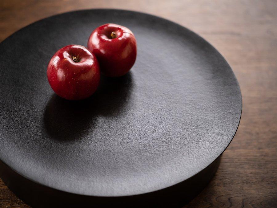 【赤木明登】| 銅鑼鉢/大 紙衣・黒
