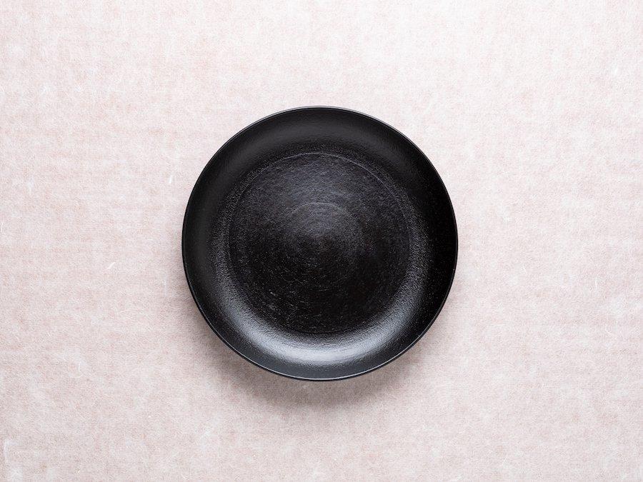 【赤木明登】| 銘々皿・黒