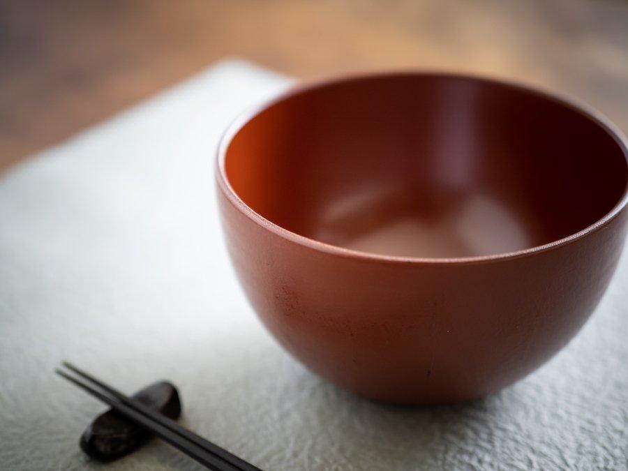 【赤木明登】| 麺鉢・赤