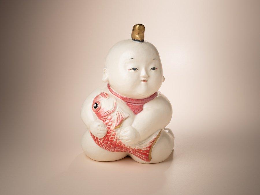 天野明美・陶人形| 恵比壽ちゃん | 〜オンライン工芸展 2021〜