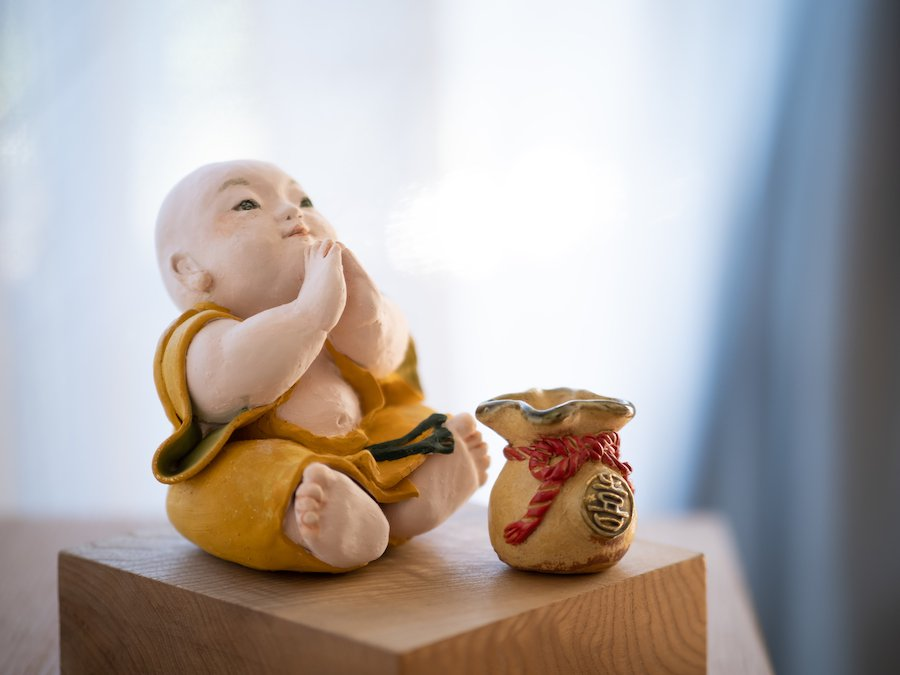天野明美・陶人形| 福福 | 〜オンライン工芸展 2021〜