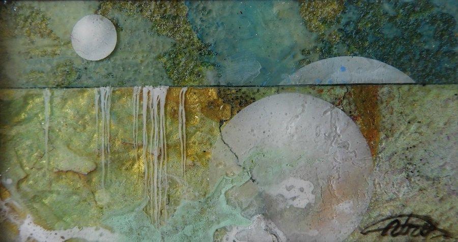 ウロ四宮・絵画作品| パトラムーン 1858 | 〜オンライン工芸展 2021〜