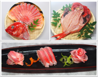 金目鯛三大料理セット